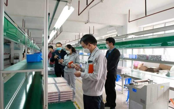 Electric-toothbrush-production