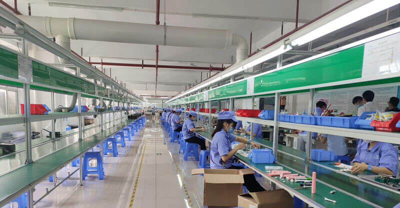 Electric toothbrush production