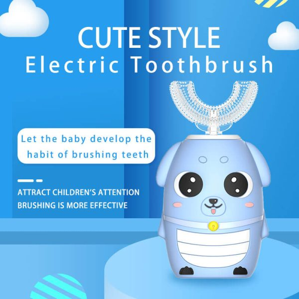 childrens-U-shaped-automatic-electric-toothbrush