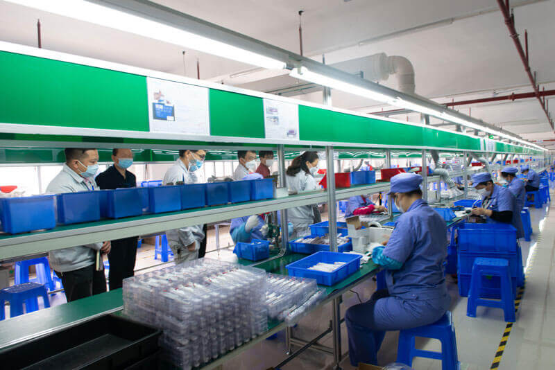 International trade electric toothbrush production line