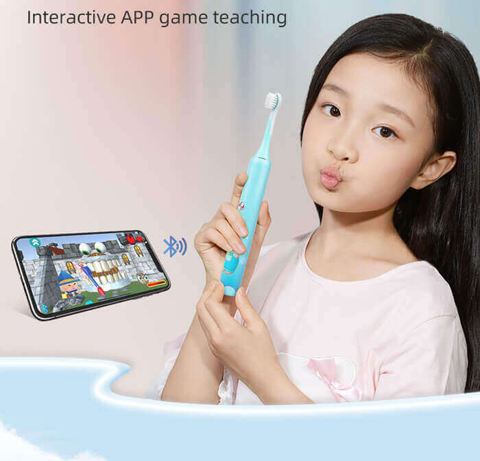 Children's smart toothbrush that can play games