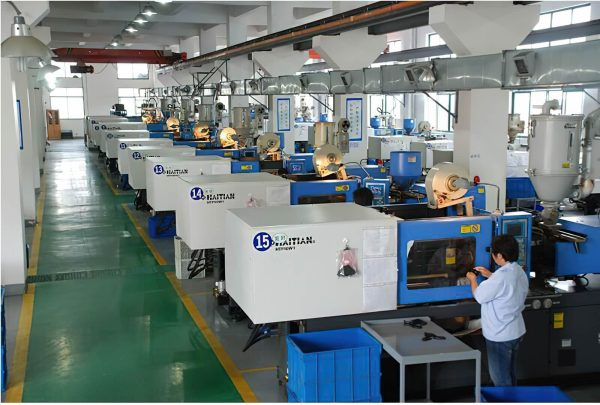Electric toothbrush injection machine