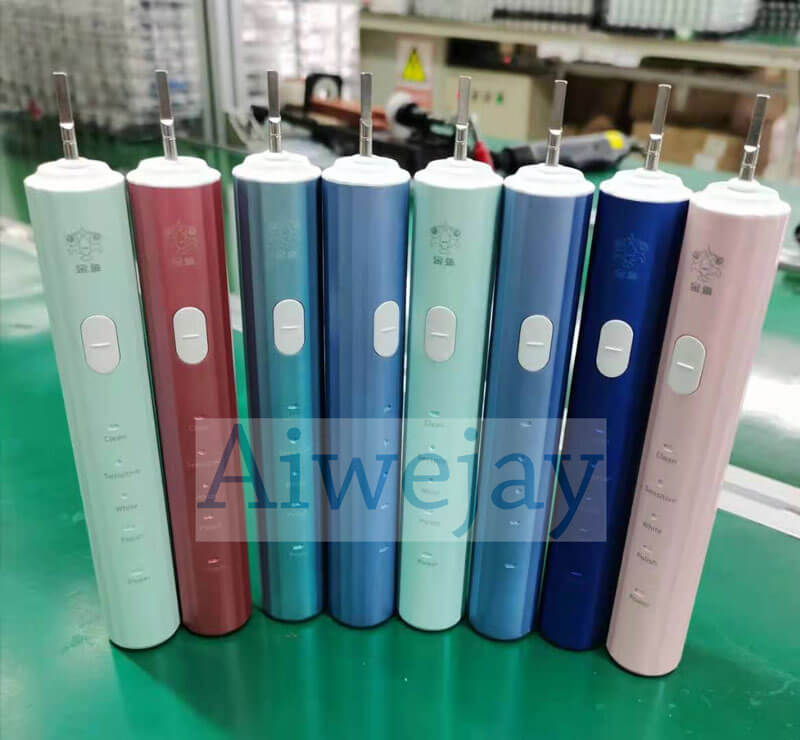 Toothbrush color quality inspection