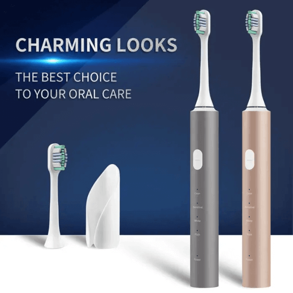 Men's usb fast charging sonic electric toothbrush